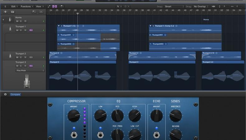 Logic Pro X Provides Actors a Prime Audio Editing Platform
