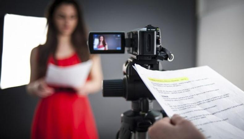 acting on camera