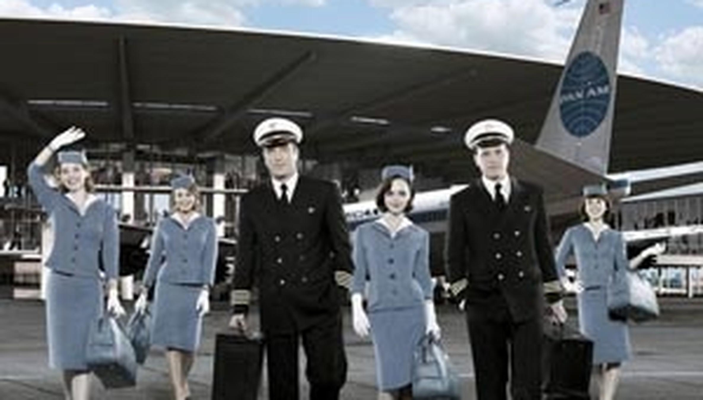 141f64345e8 Pan Am': First-Class Flight Back to 1960s Glamour