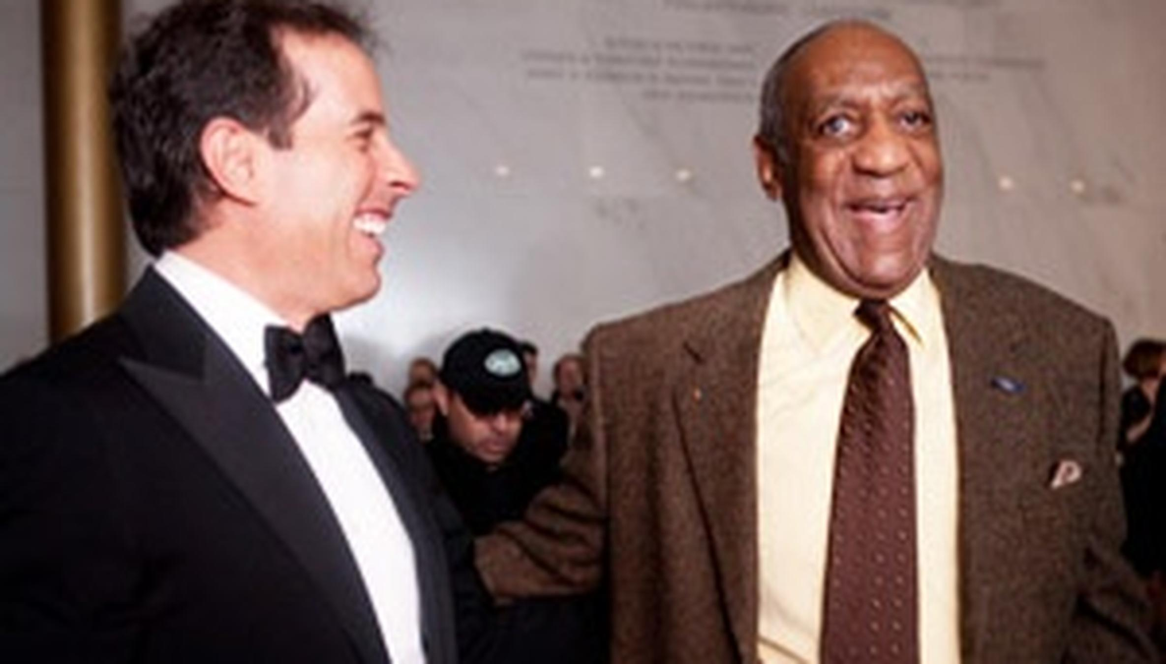 Adam Sandler Cosby Show joke's on bill cosby as seinfeld, rock pay tribute