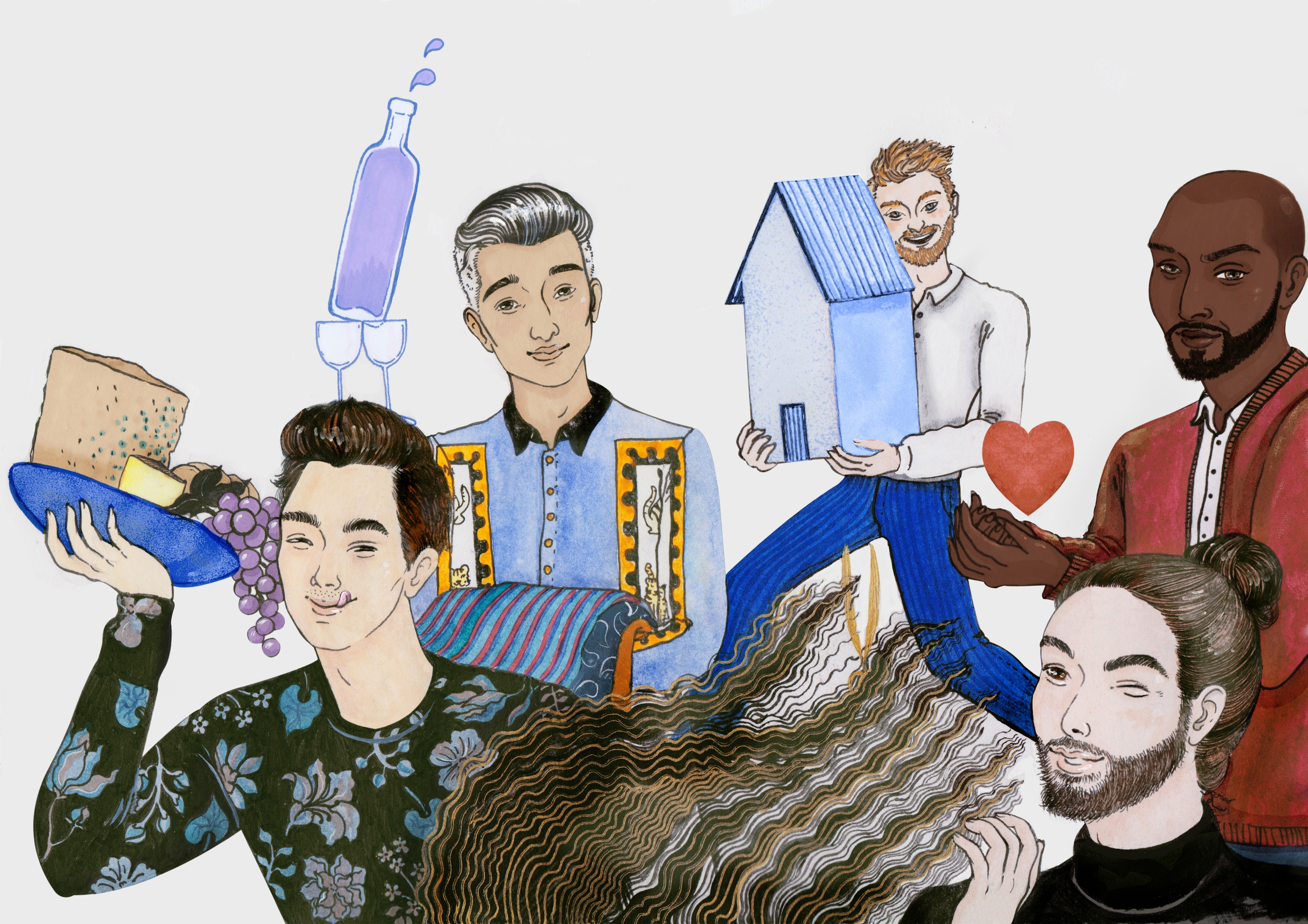 How the Fab Five Got Cast on 'Queer Eye'