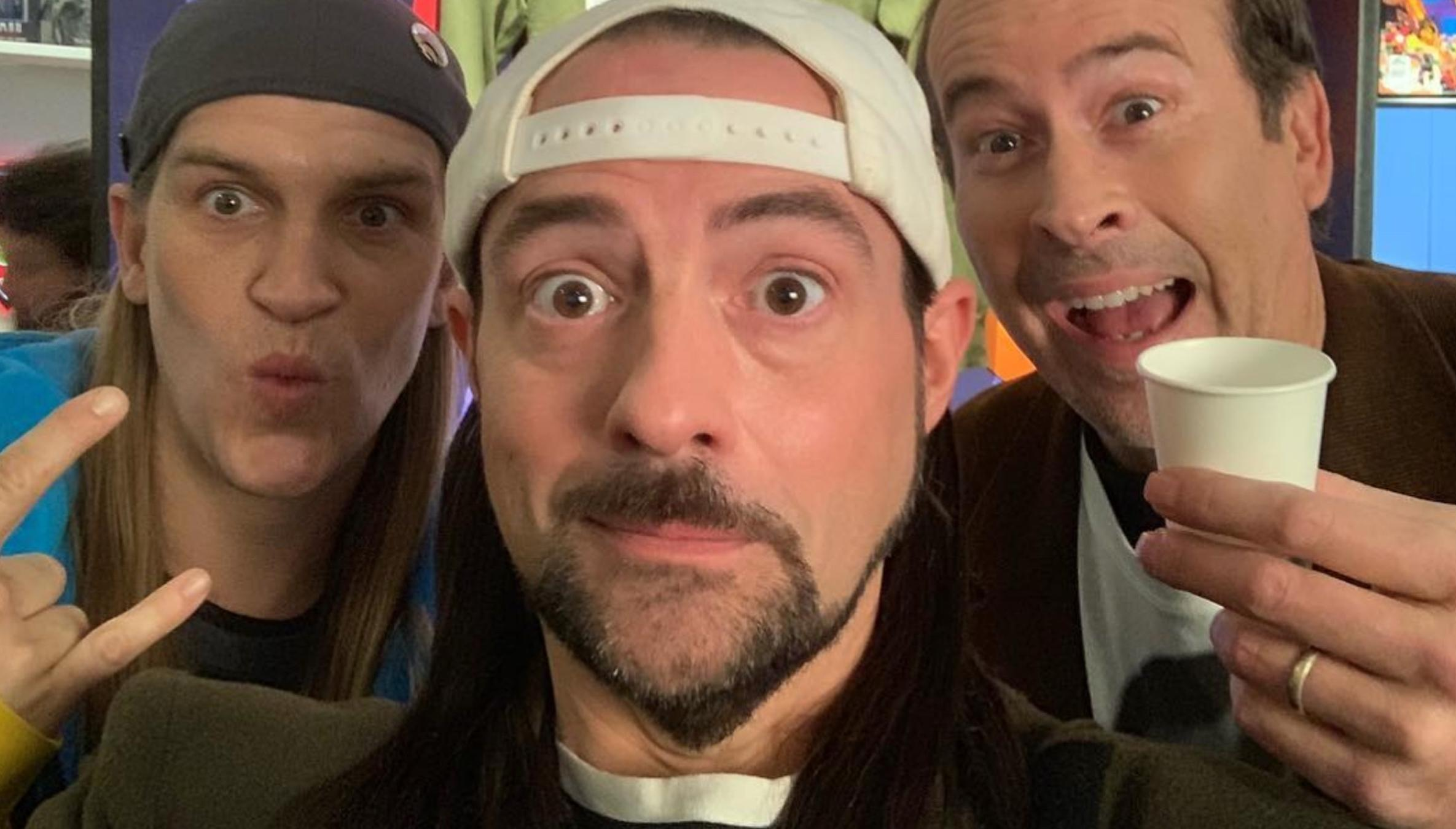 What S Filming Kevin Smith S Jay And Silent Bob Reboot In New
