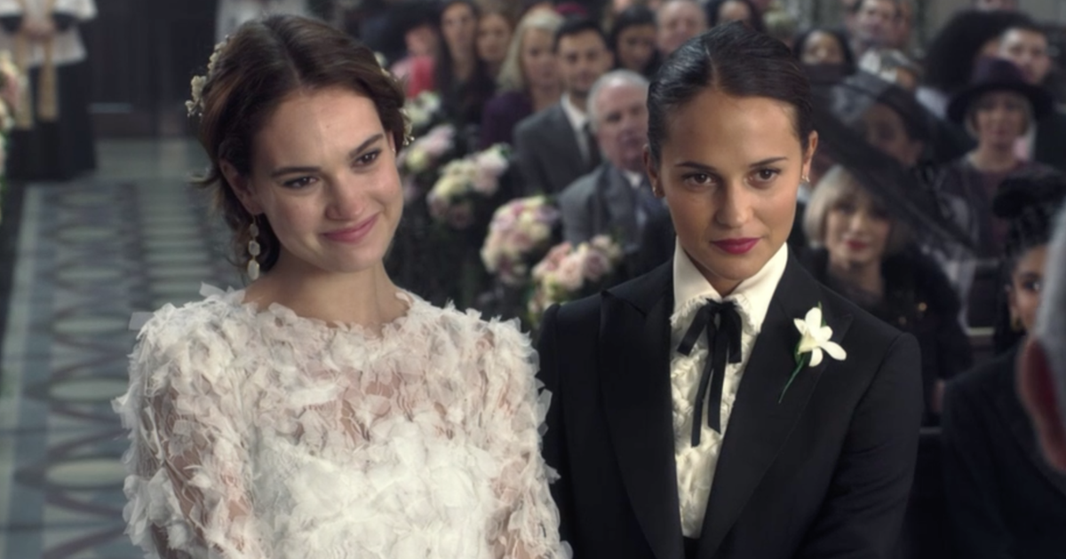Alicia Vikander and Lily James Get Married on BBC + More