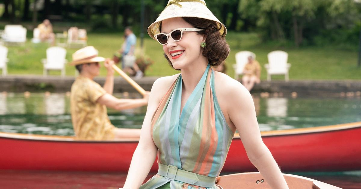 How Rachel Brosnahan's Costumes Help Her Become 'The Marvelous Mrs. Maisel'