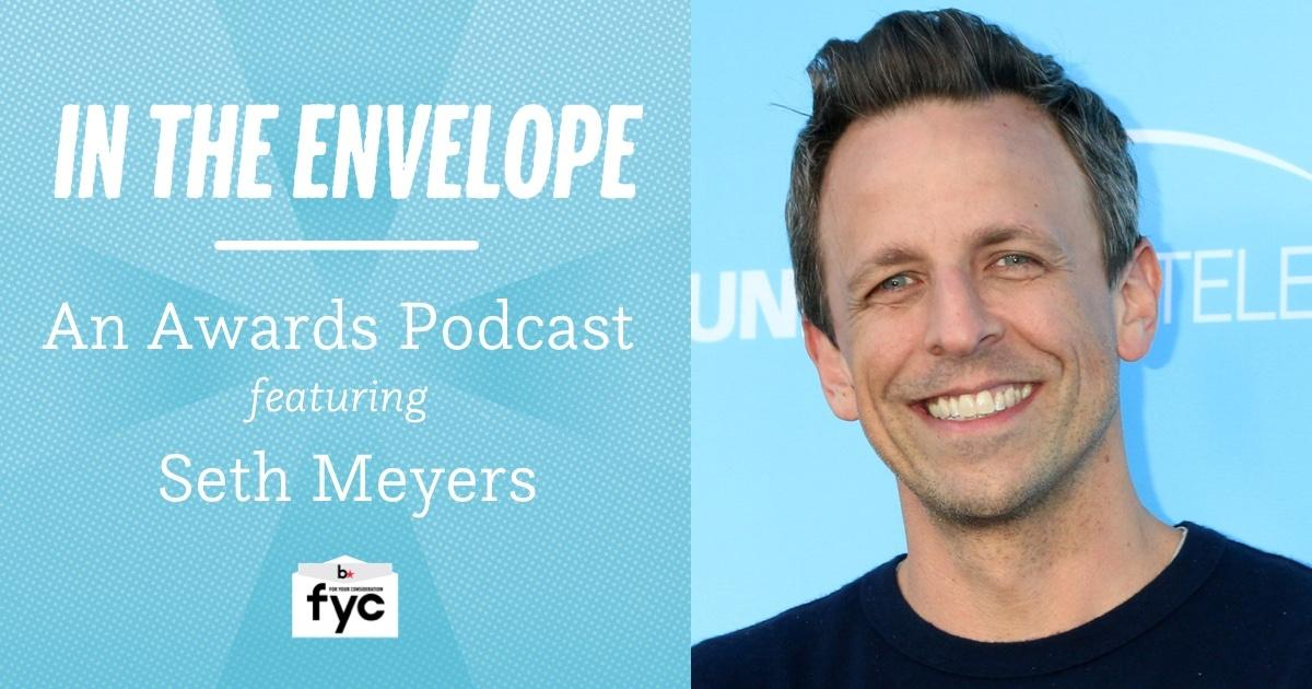 Seth Meyers' Message of Hope for Aspiring Actors, Writers & Comedians