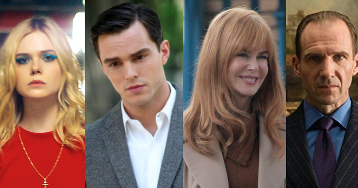 Get Cast With Elle Fanning, Nicholas Hoult, Nicole Kidman + Ralph Fiennes In Major New Productions