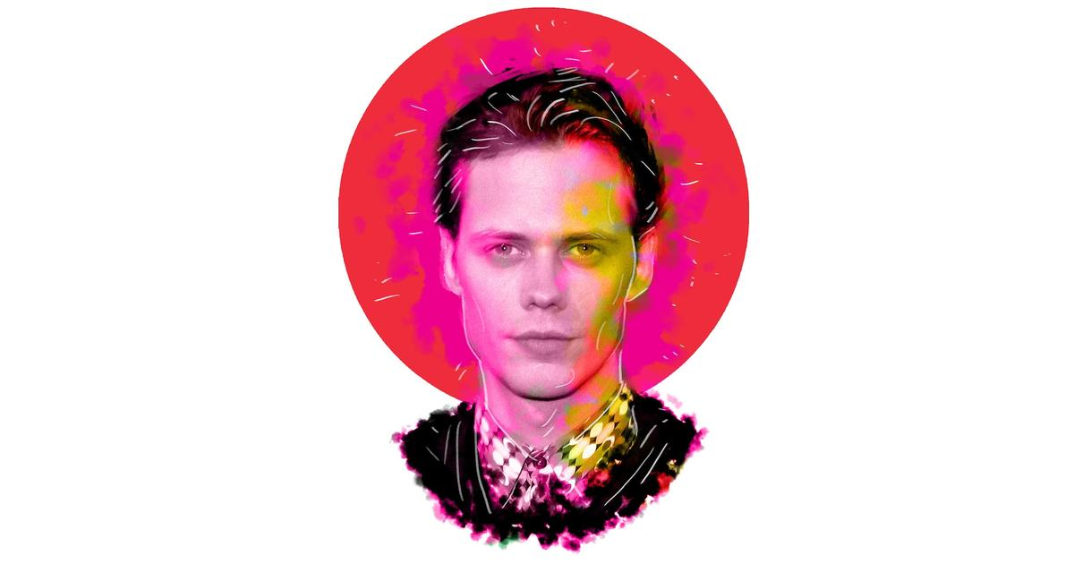 Bill Skarsgård Knows How to Be 'Really F*cking Persistent' to Get Cast