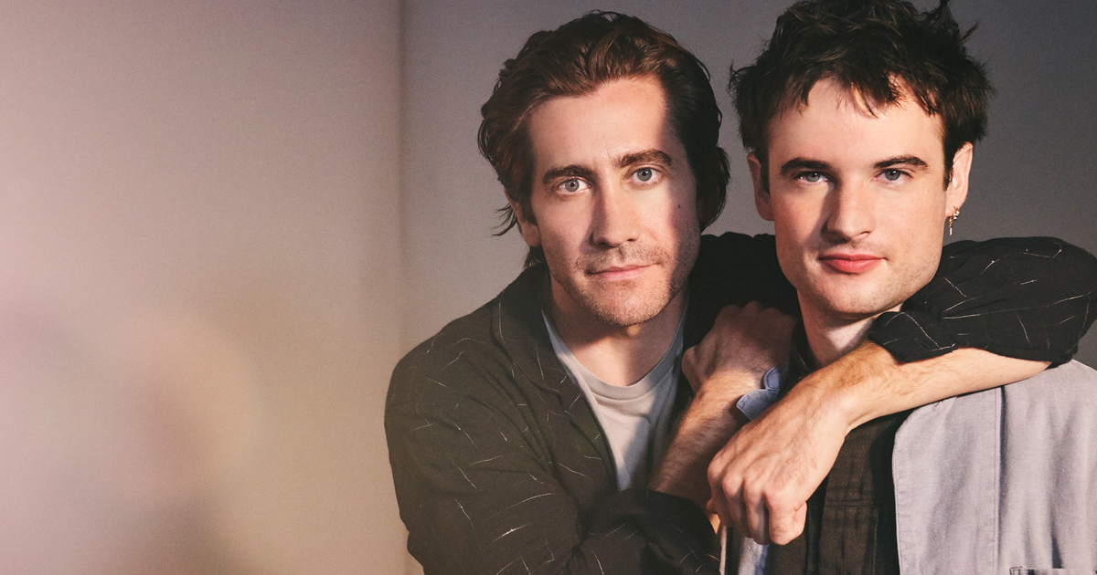 Jake Gyllenhaal + Tom Sturridge Master the Art of Deconstruction