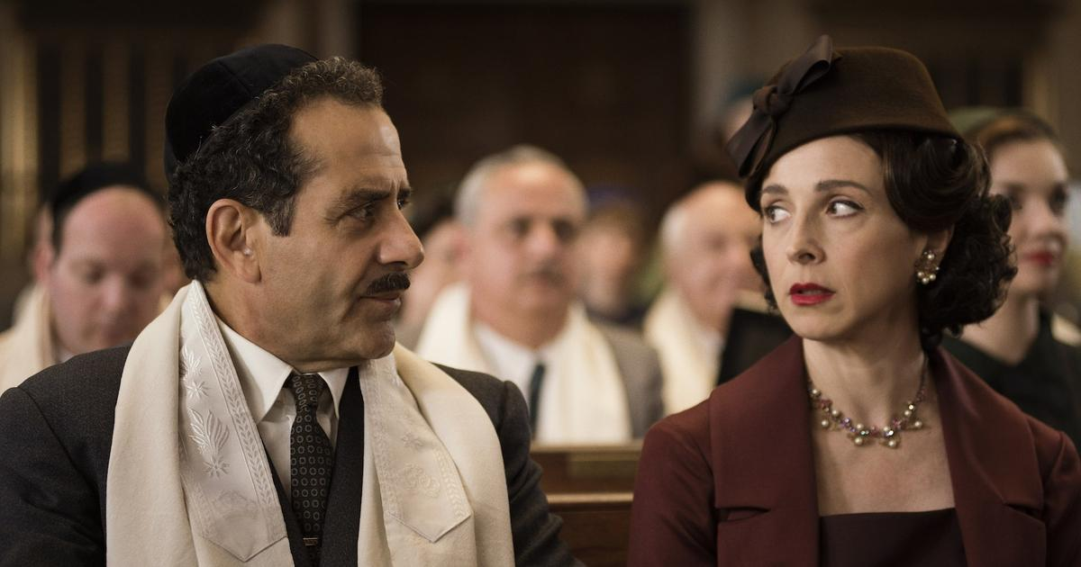 How Marin Hinkle Overcame Insecurity + Booked 'The Marvelous Mrs. Maisel'