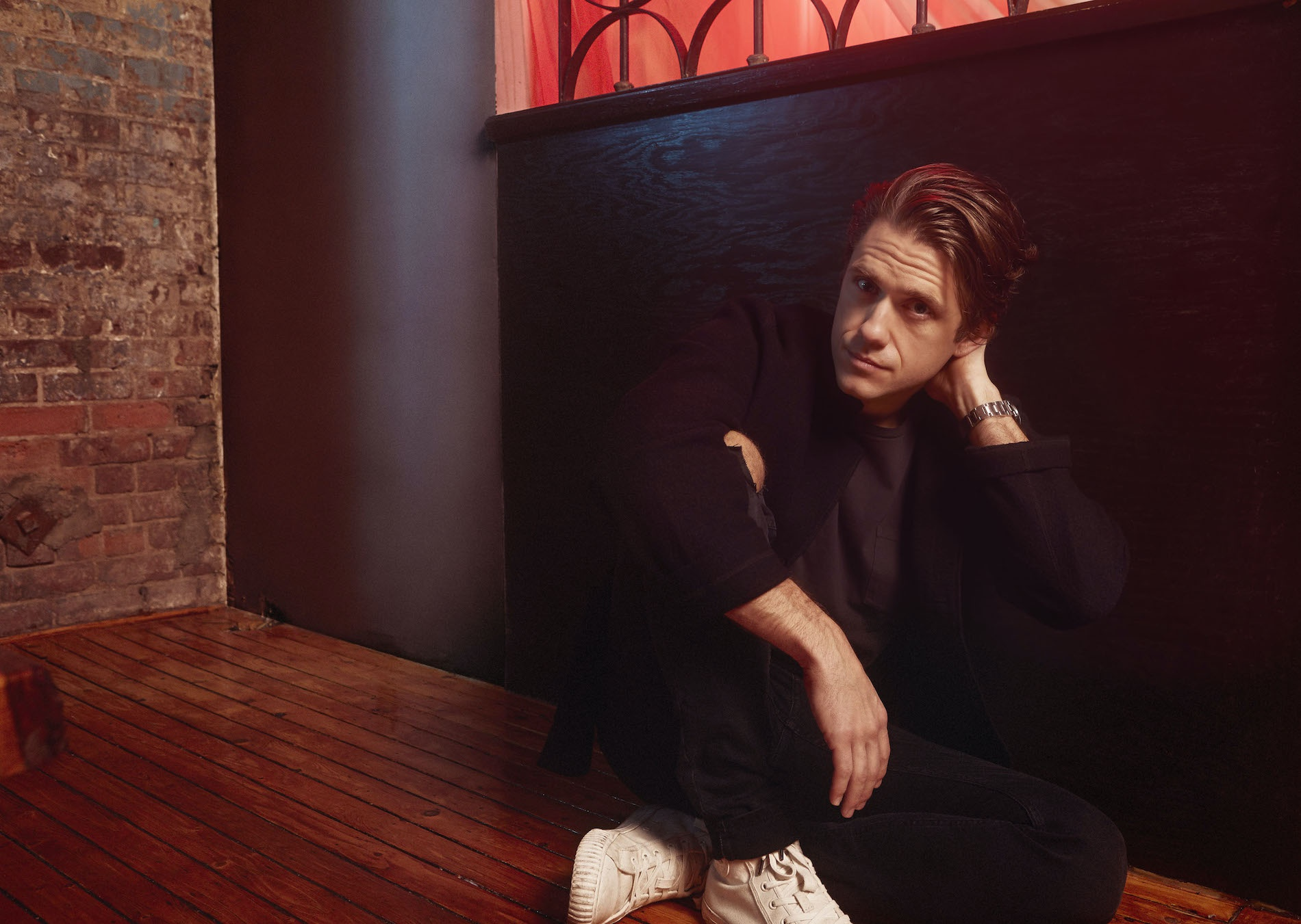 Aaron Tveit Would Like to Talk to You About His Process