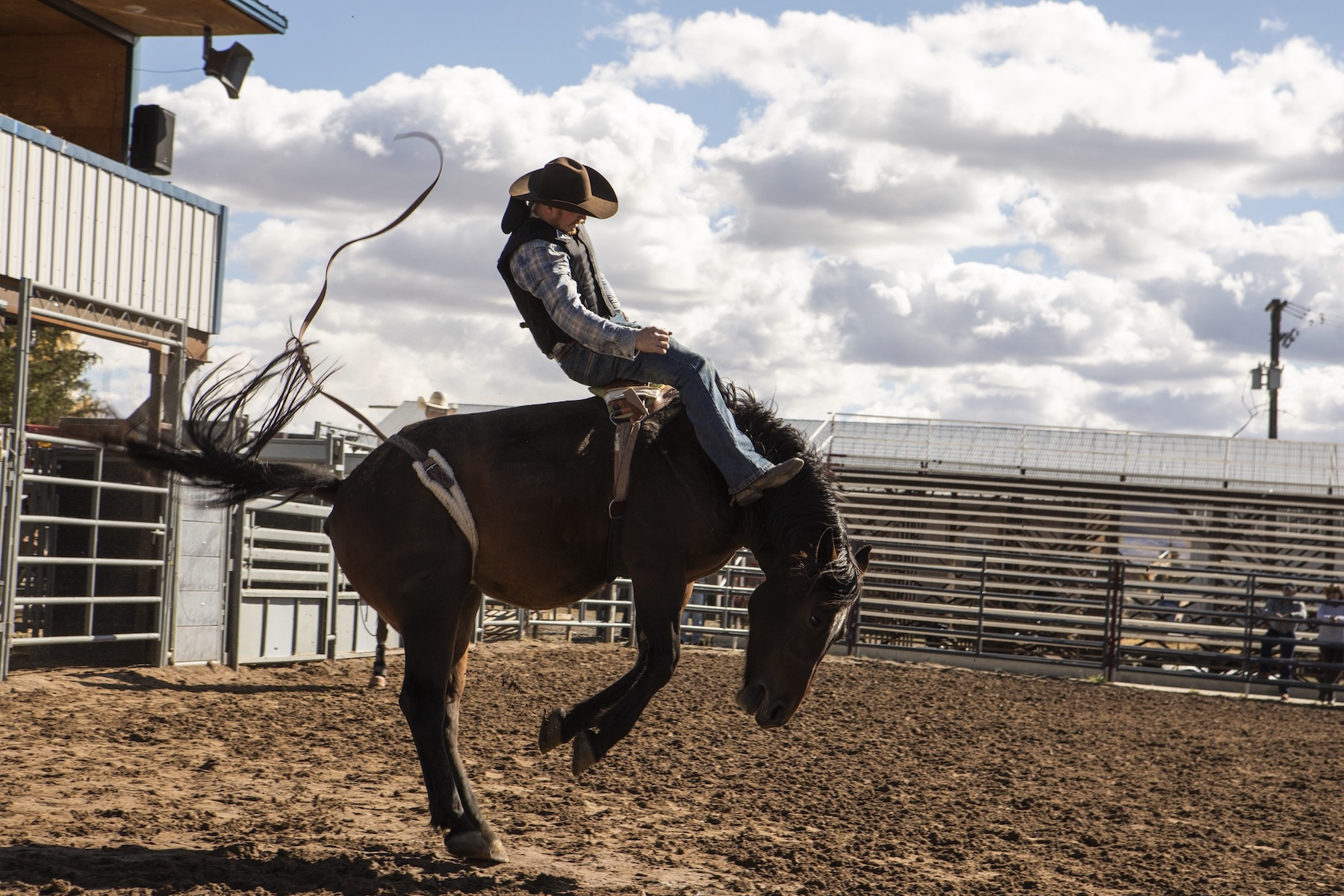 How a Professional Cowboy Became a Stunt Coordinator Thanks to His Professional Network