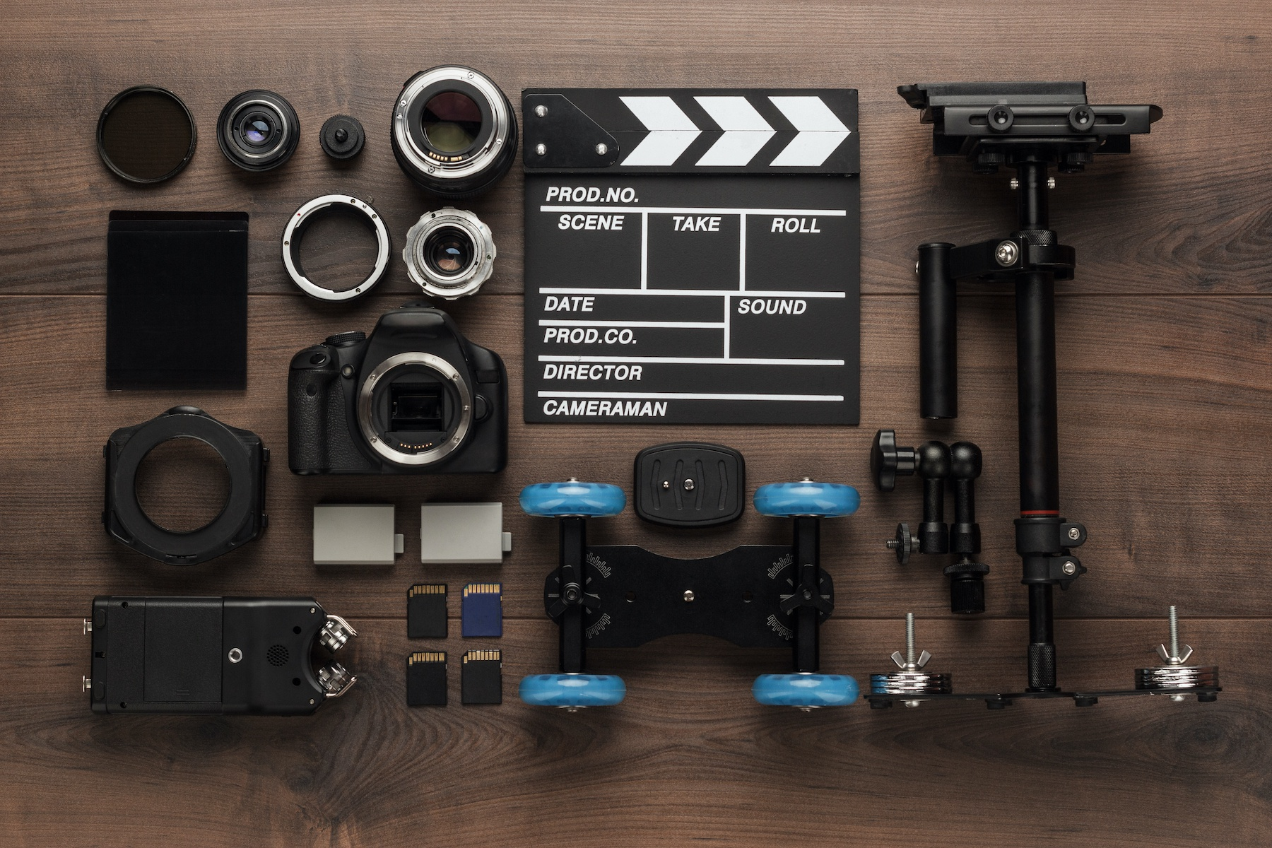 How to Rent Video Gear + Hire Crew For a Socially-Distanced Production