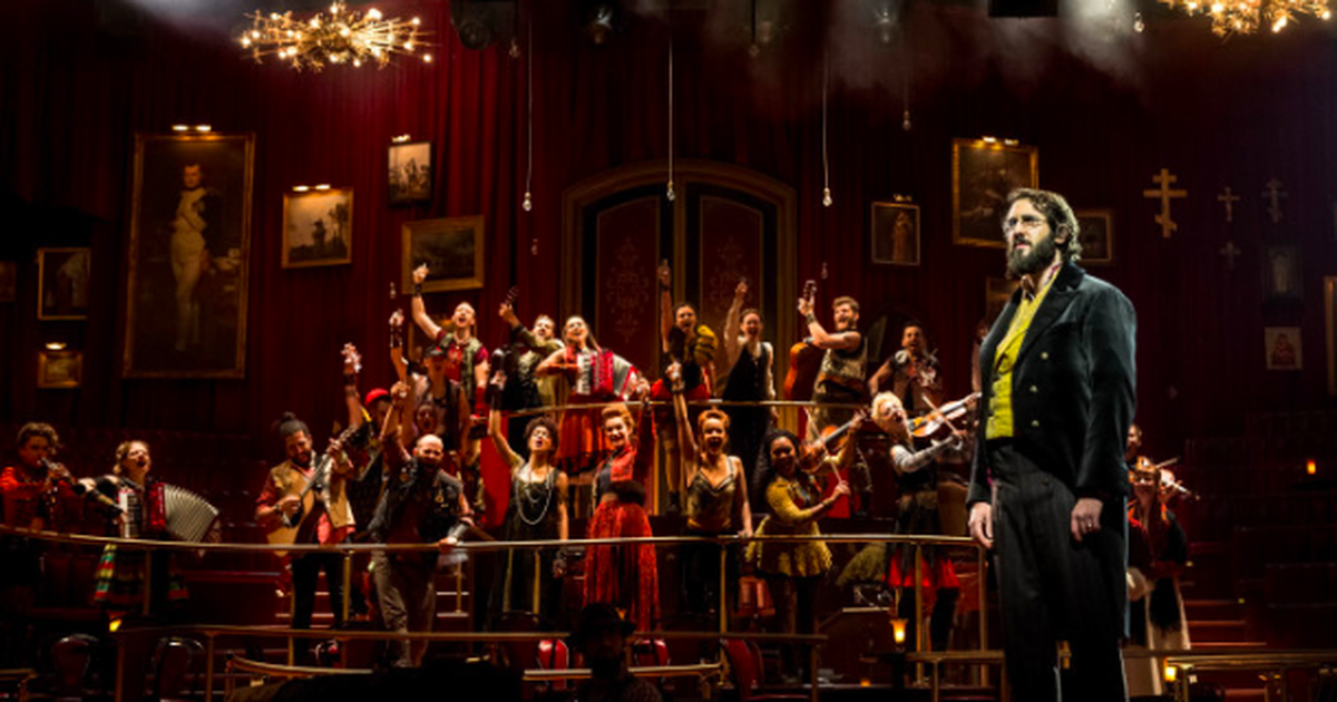 Great Comet Cast Performs Original Songs More Nyc