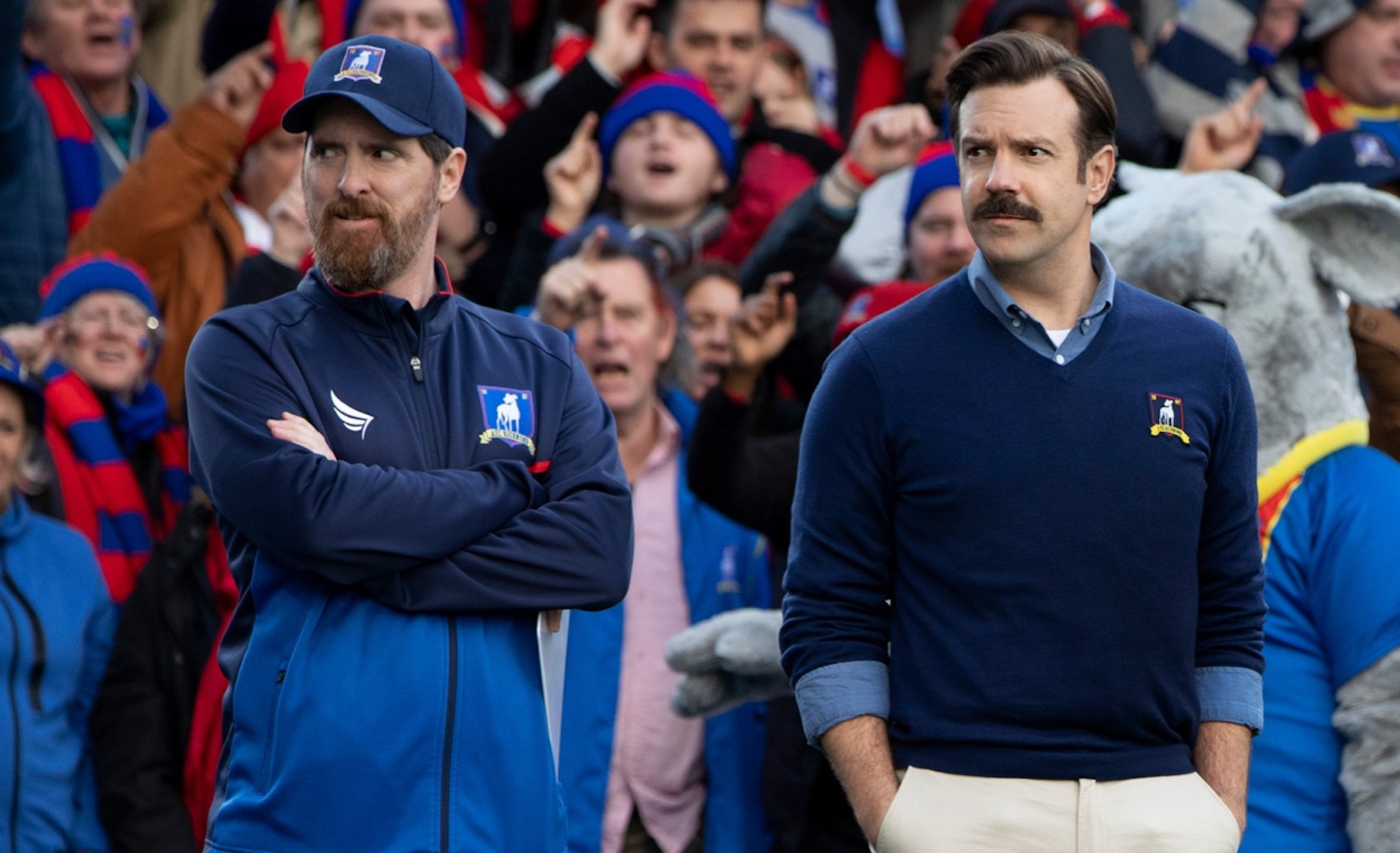 Jason Sudeikis + Brendan Hunt Talk 'Ted Lasso' and Their Best Comedy Writing Tips