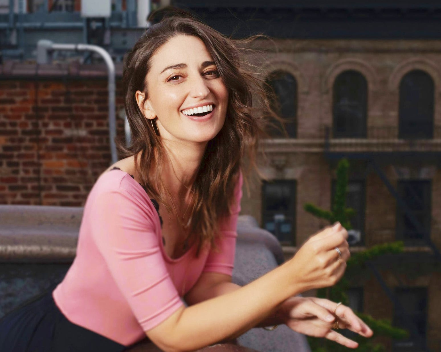 Sara Bareilles Talks 'Girls5Eva' and Her Journey as an Artist Who Does It All