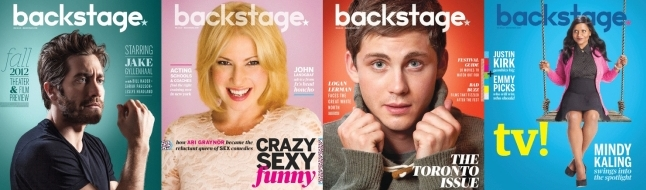 Backstage Magazine Covers