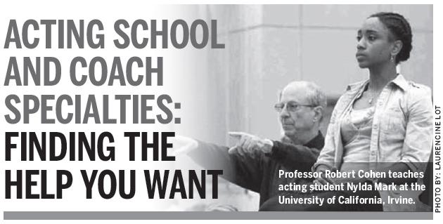 Robert Cohen teaching Nylda Mark at the University of CA, Irvine