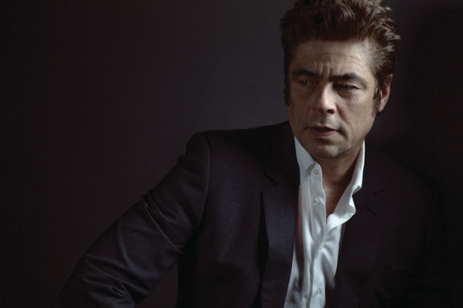benicio del toro and daughter