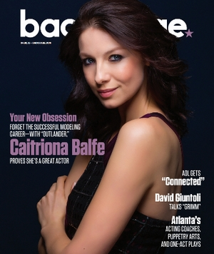 Caitriona Balfe on the cover of Backstage
