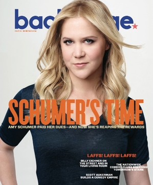 Amy Schumer on the cover of Backstage