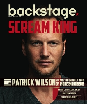 Patrick Wilson on the cover of Backstage Magazine
