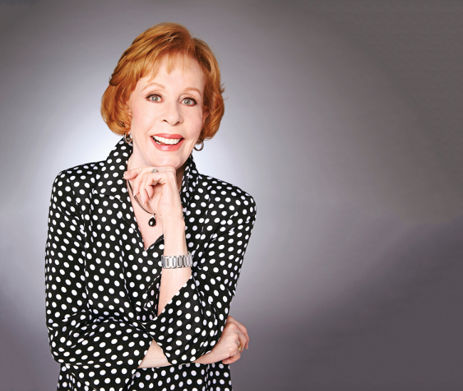 Carol Burnett Reflects On Her Career Backstage
