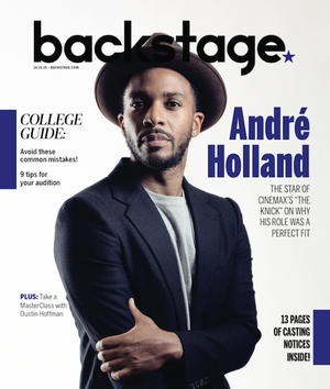 Andre Holland in Backstage Magazine