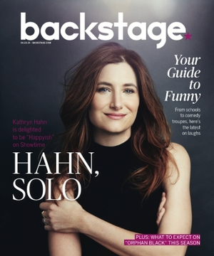 Kathryn Hahn in Backstage Magazine