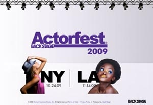 Need NYC Actors for Actorfest Promotion