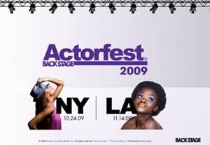 Actorfest Update