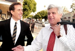 Jay Leno's First Guest: Jerry Seinfeld