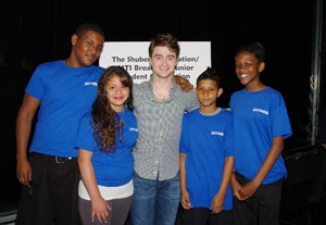 Daniel Radcliffe Welcomes Middle Schoolers to Majestic Theatre