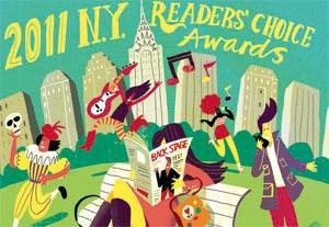2011 New York Readers' Choice Winners