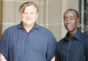Don Cheadle and Brendan Gleeson Approach Their Craft Similarly