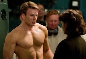 Chris Evans Savors the Moment as 'Captain America'
