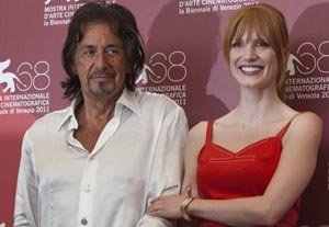 Chastain Inspired Pacino's 'Wilde Salome'