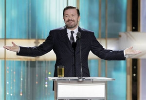 Golden Globe Nominees Ready for Gervais' Wrath