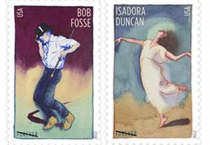 Ethel Kessler on Her Postage Stamps Honoring Four Choreographers