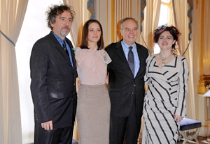 Tim Burton, Marion Cotillard Get French Honor