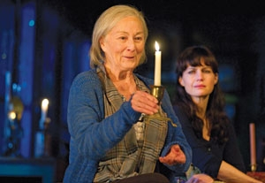 Rosemary Harris Returns to Broadway in 'The Road to Mecca'