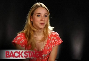 VIDEO: Zoe Kazan