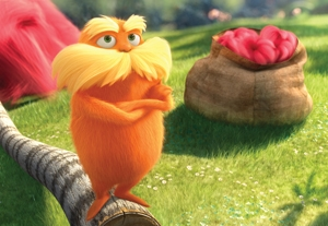 'Lorax' Remains Number One, 'John Carter' Disappoints