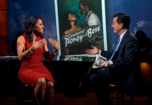 VIDEO: Audra McDonald Sings 'Summertime' on 'Colbert Report'
