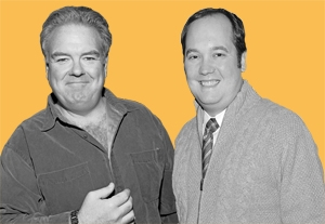 John Lutz and Jim O'Heir Play the Punching Bags on NBC Sitcoms