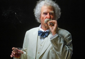 Val Kilmer Looks to Mark Twain for Guidance
