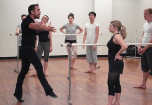 Steven Sofia Leaps From Broadway to Pilates
