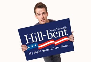 NY Review: 'Danny Visconti Is Hill-bent: My Night With Hillary Clinton'