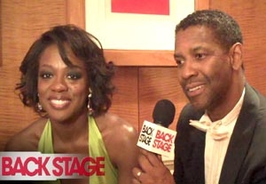 Back Stage at the 2010 Tony Awards