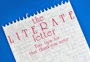 The Literate Letter