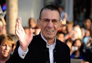 Nimoy Comfortable with 'Fringe' Role